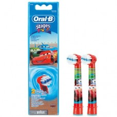 Насадки Braun Oral-B Stages Power Cars детские, 2 шт