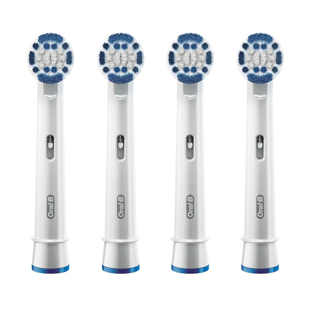 Насадки Braun Oral-B Precision Clean EB20-4, 4 шт
