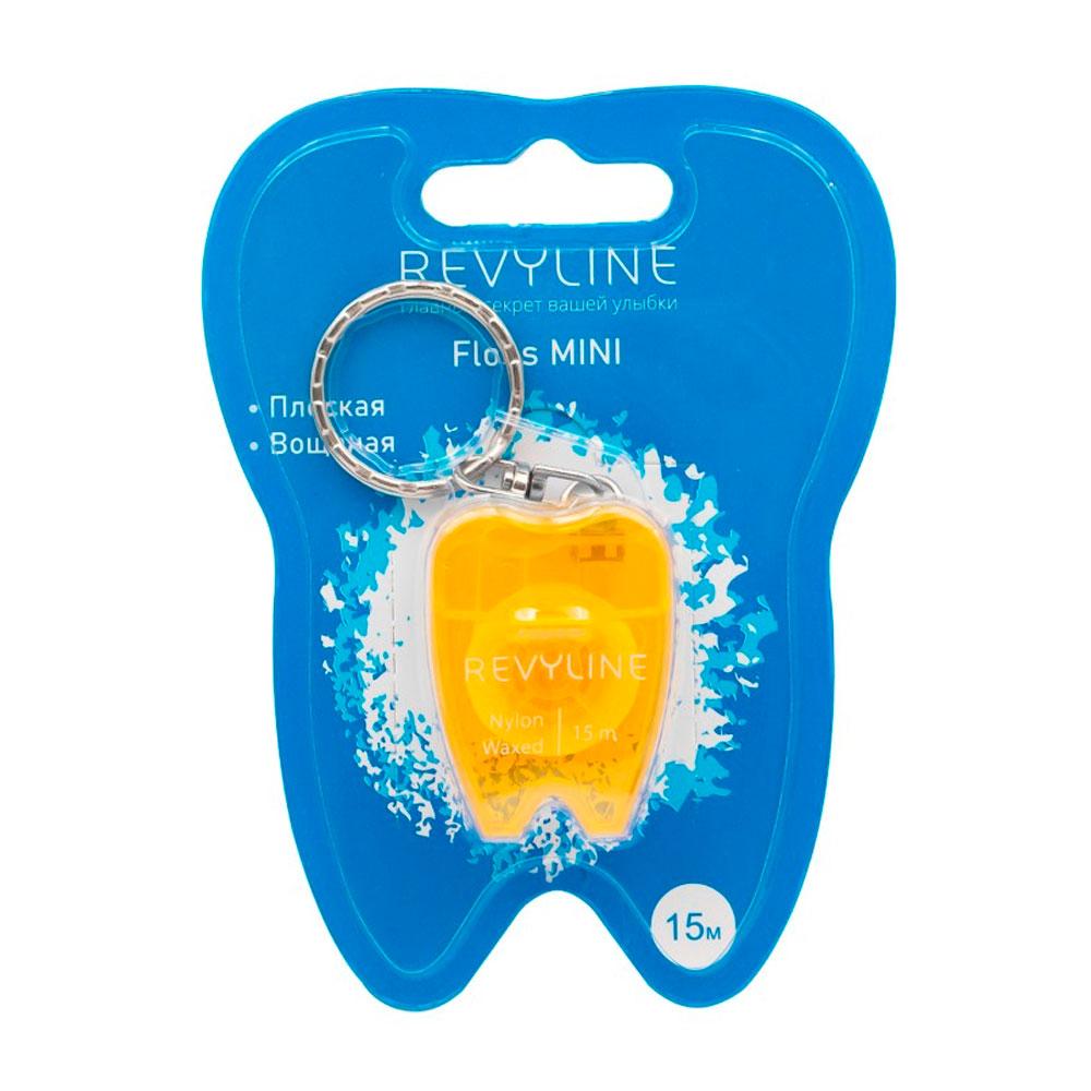 Зубная нить вощеная Revyline floss mini, 15 м
