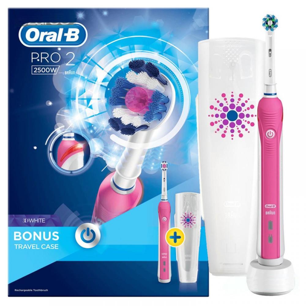 Braun Oral-B PRO 2500 pink
